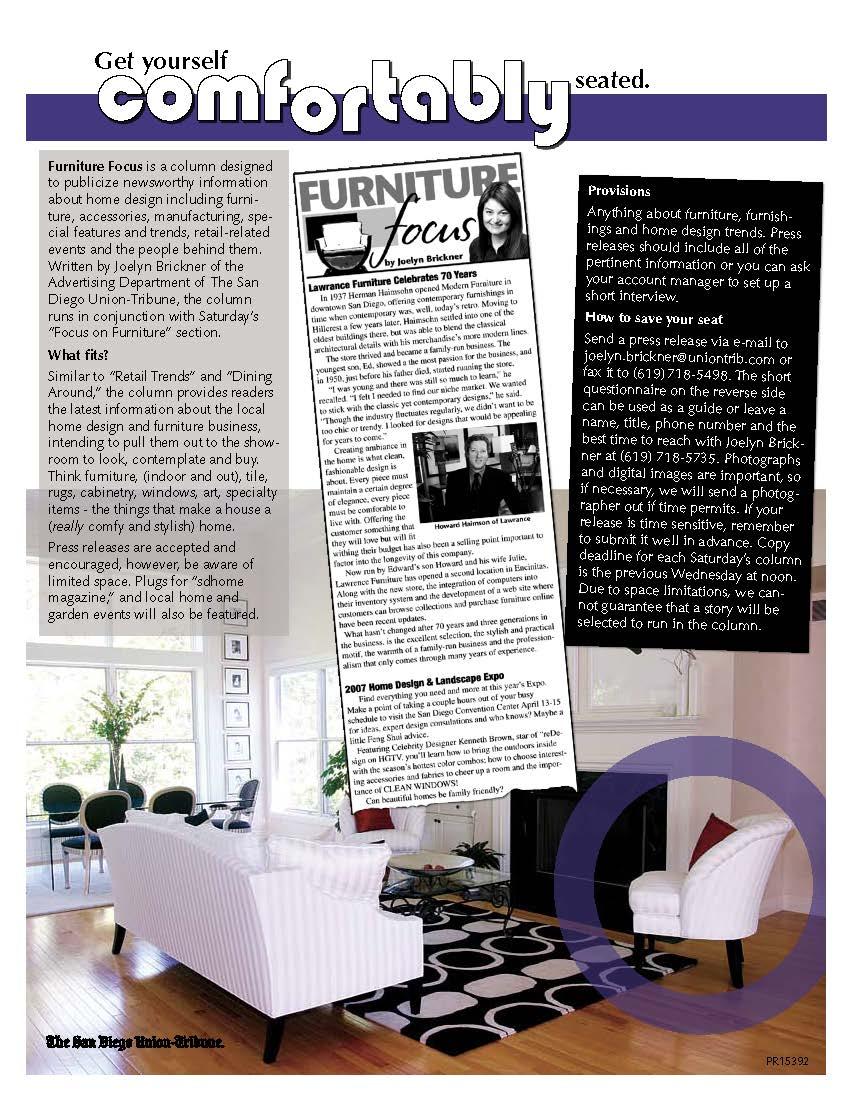 Furniture Focus Promo