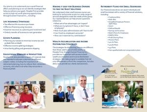 Duffy Tri-fold Brochure