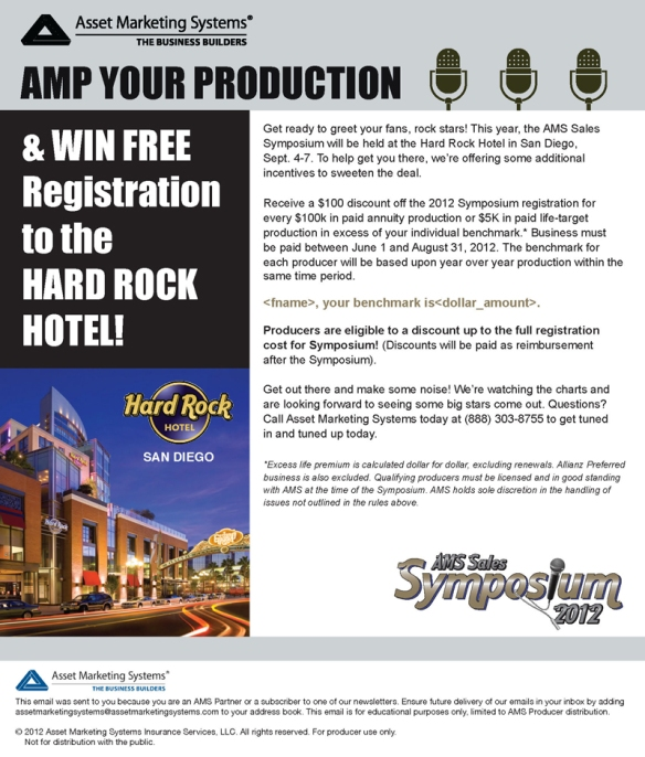 AMS 2012 Symposium