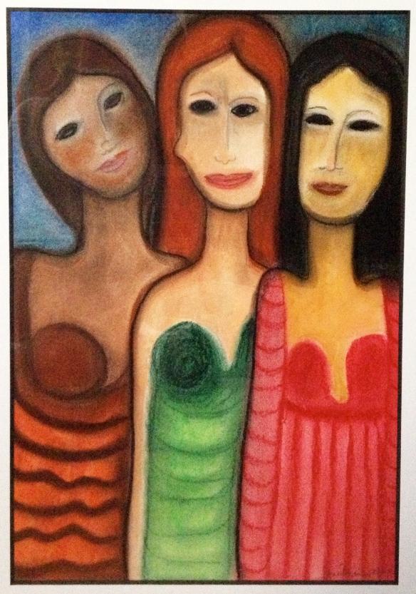Three Graces, J. Brickner 2006